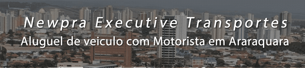 Aluguel de Veiculo com Motorista para Transporte Executivo em Araraquara